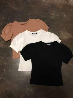 [PL] Mira Mew Puffy Sleeves Tops