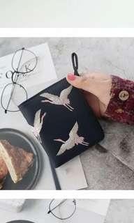 [BN] Birds Embroidery Wallet