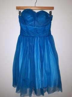 Strappless Grad dress