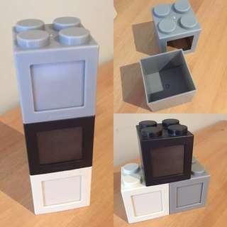 Lego storage + photo frame