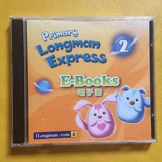 包郵費 Primary Longman Express 2 電子書 E books 小學教材