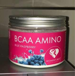 Womens best blue raspberry bcaas