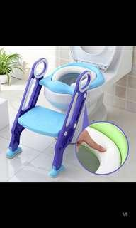 Baby toilet training stairs