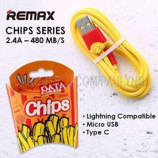 ❤️Remax Chips 2.4A Lightning Cable Micro USB Cable
