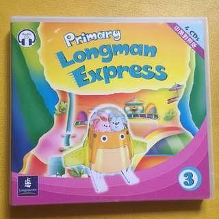 包郵費 Primary Longman Express 3 中英對照 4 CD