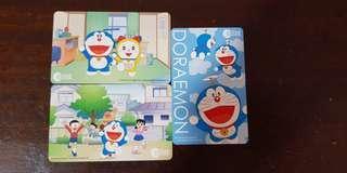 Brand New Doraemon Ezlink Card Set