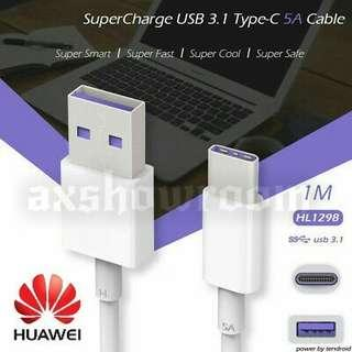 Original Huawei Type-C USB Data / Supercharge Cable HL1298