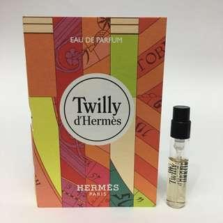 Twilly D'Hermes Perfume Sample edp 2ml vial spray