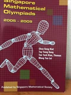 SMO Singapore mathematical Olympiads 2005-2009