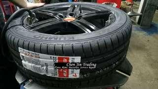 215/45R17 Kumho PS71 tyres, Made in Korea, promotion price, new stock, whole sale price, lowest price, gss, limited stock left only