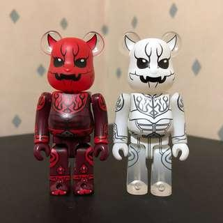 Bearbrick 100% 雷鬼 set Bear Be@rbrick Toy Figure Art Trendy Brand Design Rabbrick R@bbrick Nyabrick Ny@brick 模型 擺設 收藏品 名牌 潮流 玩具 禮物 生日禮物
