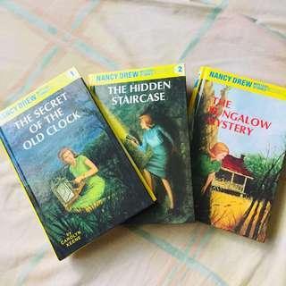 Nancy Drew Mystery Stories 1-3