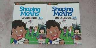Shaping Maths Coursebook 1A & 1B