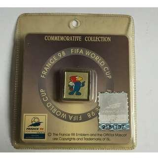Vintage France World Cup 98 Pin