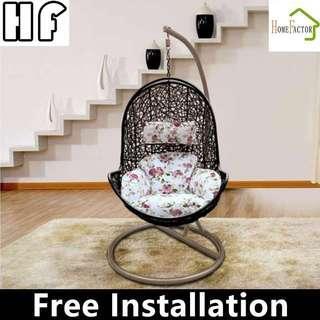 Swing chair/Rattan chair/Rocking chair/S625(Balck,White)