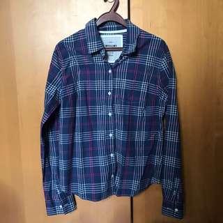 🚚 Mossimo Supply Co. Blue Plaid Checkered Shirt