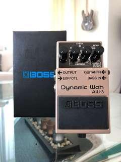 BOSS AW-3 Auto Wah Guitar Effect Pedal