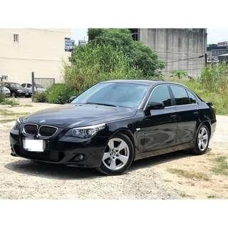 2007~BMW E60 530I 總代理 一手車 Keyless 6顆安全氣囊 多功能快撥方向盤 電話快撥 電子線傳