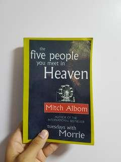 🚚 The Five People You Meet in Heaven — Mitch Albom