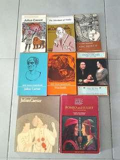 Shakespeare Literature Books