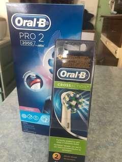 Oral-B pro2000 電動牙刷