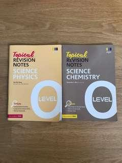 O Level Science Topical Revision Notes