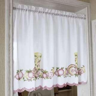 Door Window Curtain Valance