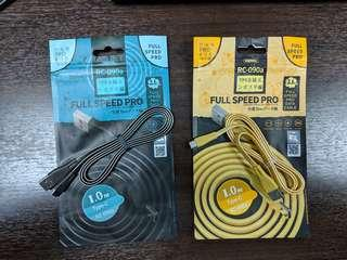 REMAX Type C Cable Charger Data Original