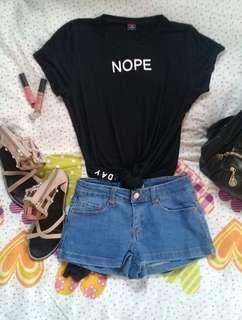 Long back top Tshirt Dress