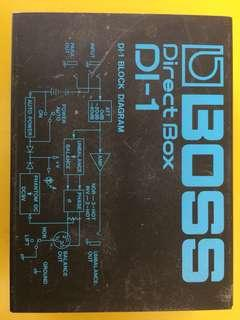 Boss direct box DI-1