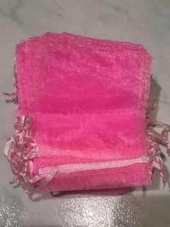 (M) Organza Drawstring Bag / Gift