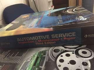 automotive service book