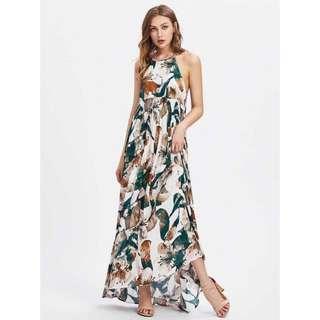 Halter type Maxi Dress