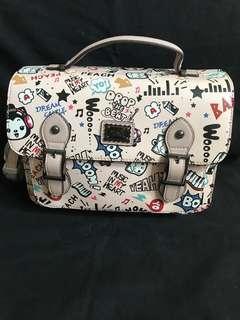 Cutie peach Crossbody Bag. Brand new