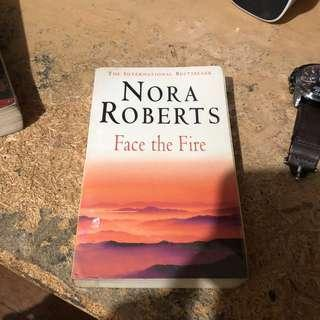 Nora roberts face the fire book