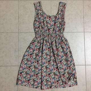 Floral Flower Dress