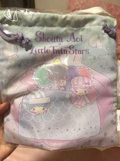 日本限定 Shouta Aoi x Little Twin Stars 索袋
