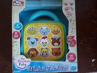 Musical Touch pad