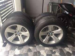 ORIGINAL X6 X5 RIM 19' WITH TYRE MICHELLIN