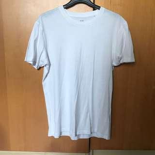 🚚 Uniqlo Plain White Tee Shirt