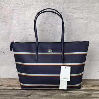 ON HAND: Authentic Lacoste Shopper Tote Bags