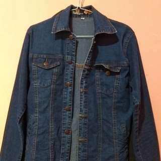 Outer /jaket jeans