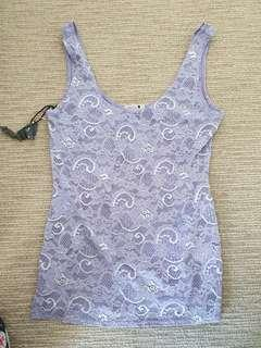 Lace tank too