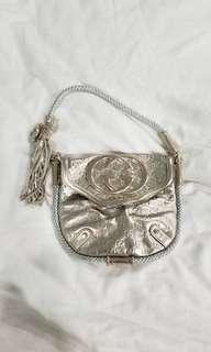gucci silver bag