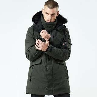 Green Winter Jacket