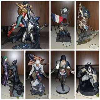 Bundle - Batman and Assassin Creed Figurines