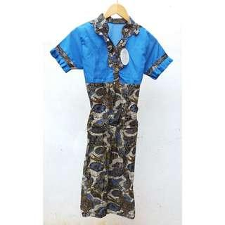 Dress batik fit to M