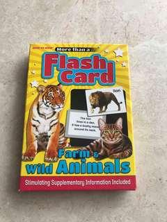 Farm & Wild Animals Flashcards