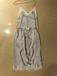 The kooples 絲質緞面洋裝,超美,9.5成新,ㄧ套賣