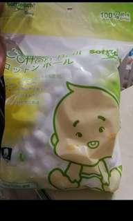 (全新) Soft touch 棉花球